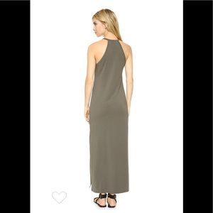 ccb04cfbb1c Theory Dresses | Nwt Sonaki Maxi Dress Dark Moss Szm | Poshmark